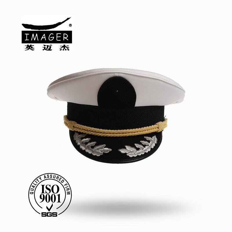 588fe2d617663 China Fashion Custom Made Military Marine Sea Officer Hat Peaked Cap ...