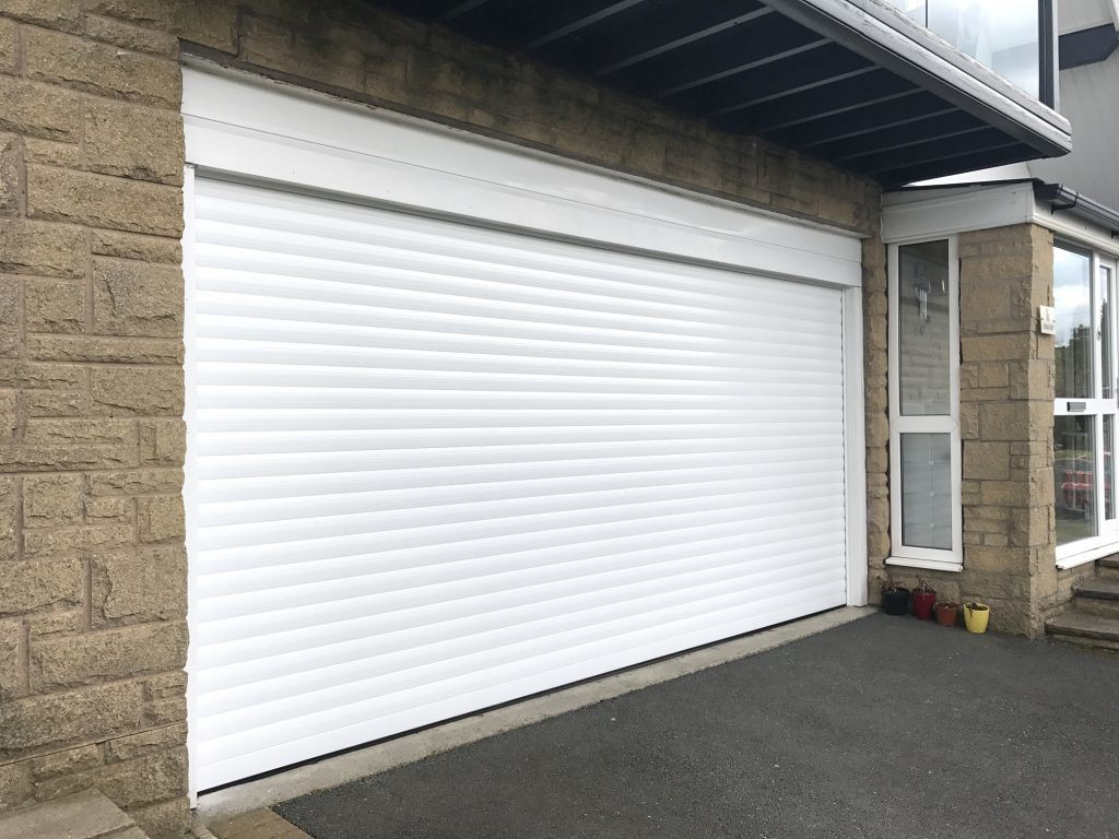 China Aluminum Automatic Electrical Roller Shutter Garage