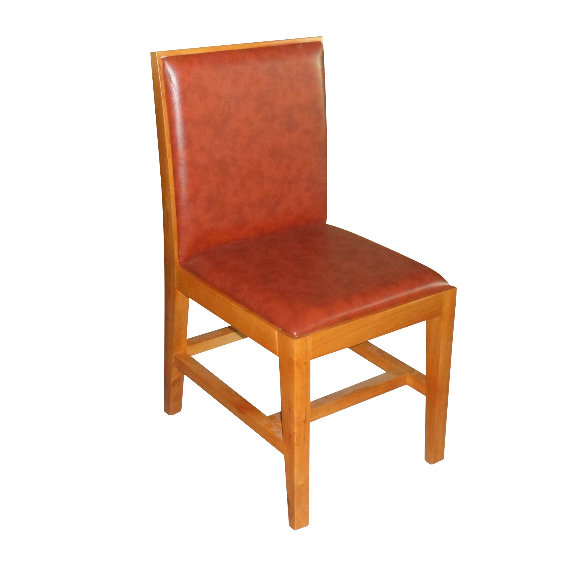 Modern rubber wood restaurant chair dc 007