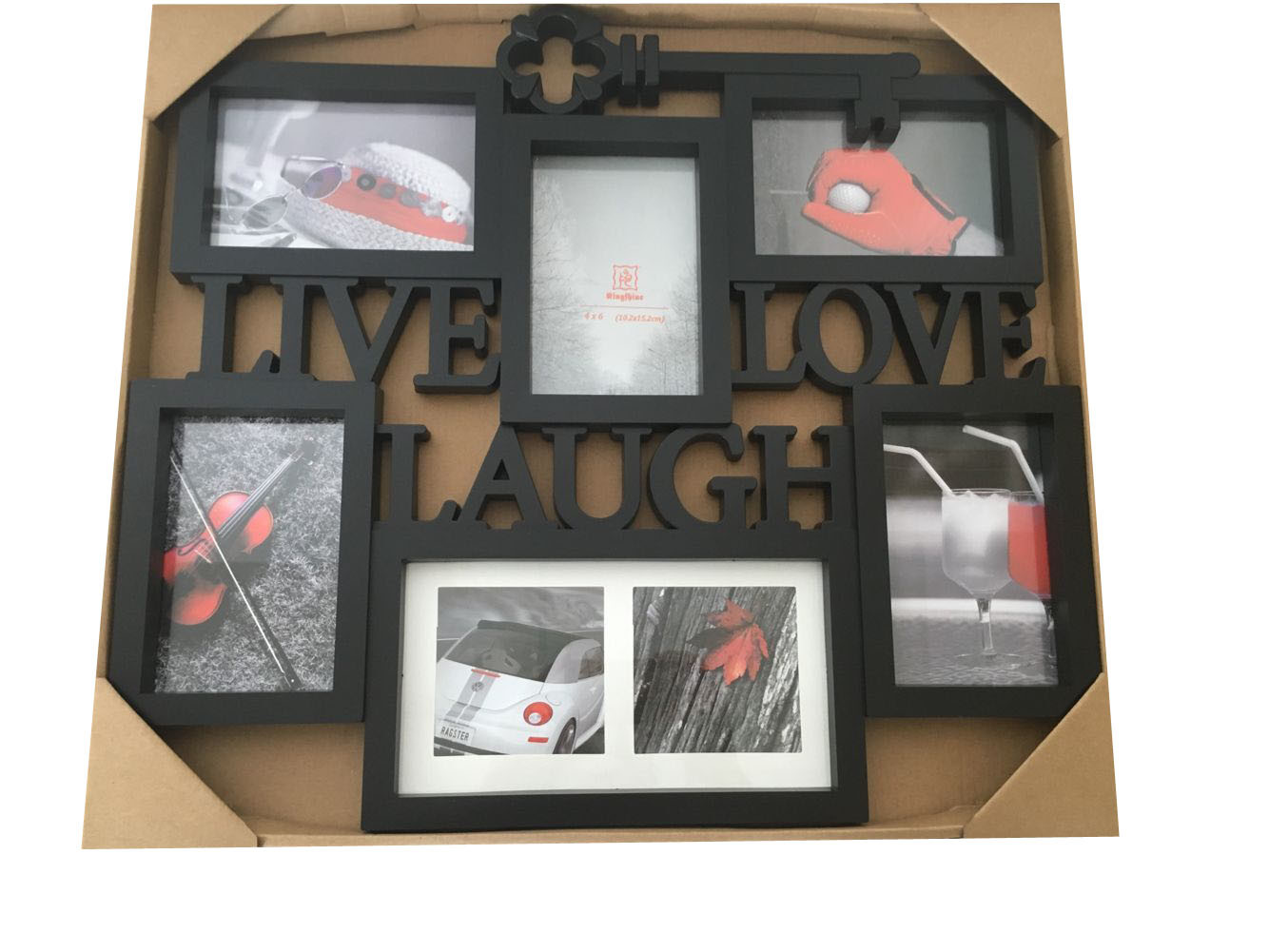 China Plastic Home Decoration Craft Picture Collage Multi Frame 1 ...
