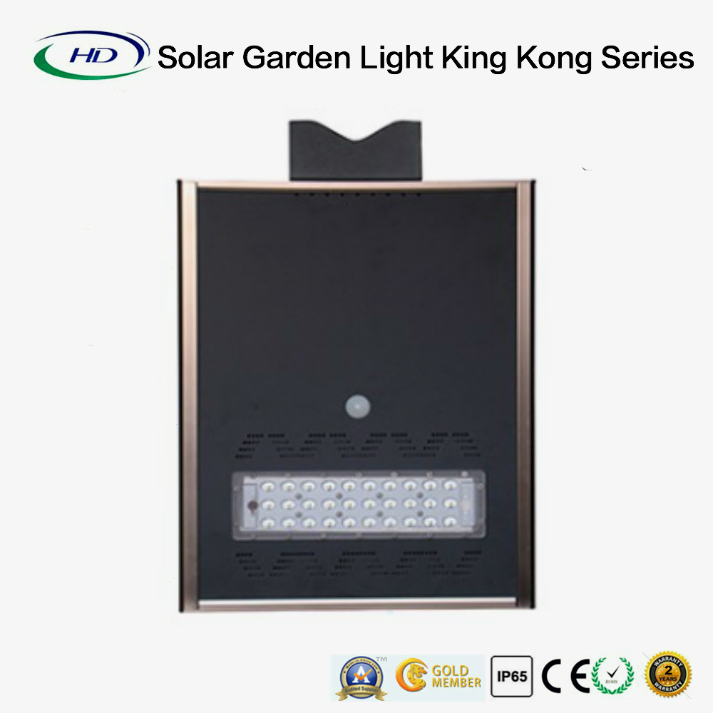 20W Integrated Solar Garden Light with Remote Control (King Kong Series) pictures & photos