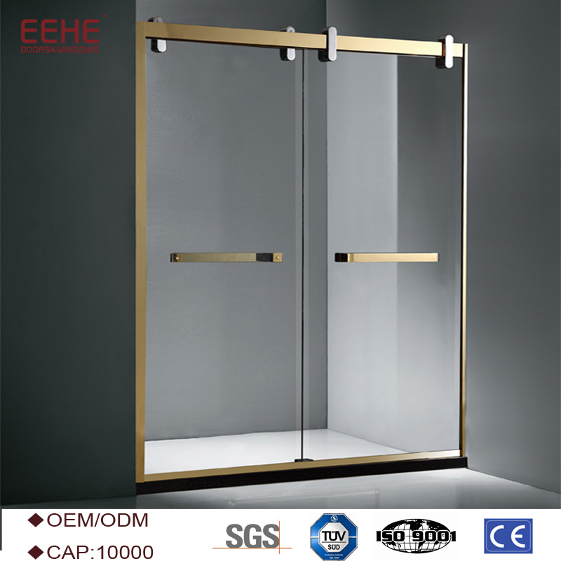 China Convenient Comfort Sliding Glass Door Shower Enclosure - China ...