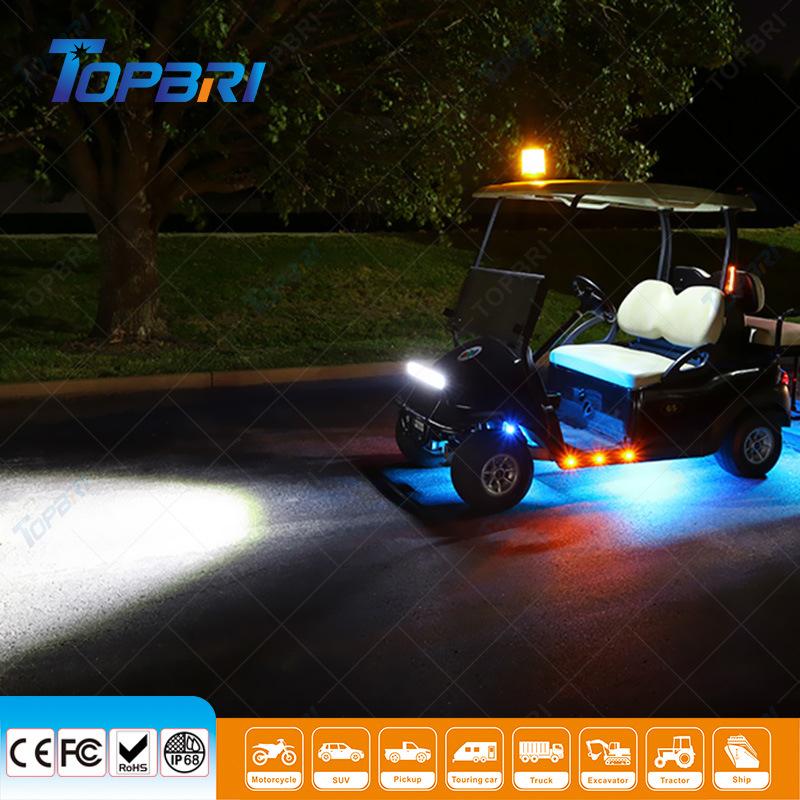 China 72w Combo Beam Offroad Rescue Vehicle Led Light Bar