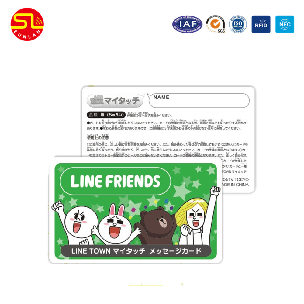China Nfc Enabled Business Card with Smart Chip - China Business ...