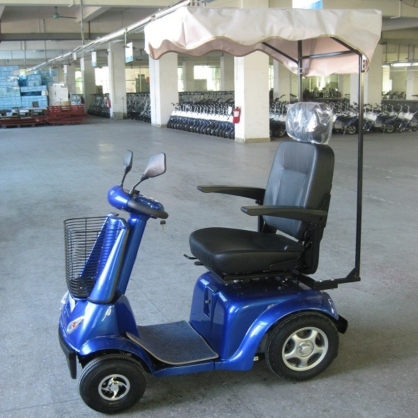 Marshell 800W Four Wheel Electric Mobility Scooter (DL24800-3) pictures & photos