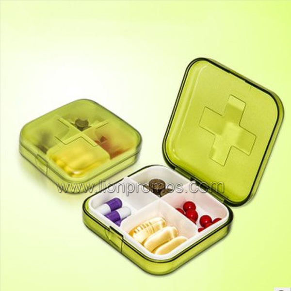OEM Logo Health Medical Gift Plastic Pillbox pictures & photos