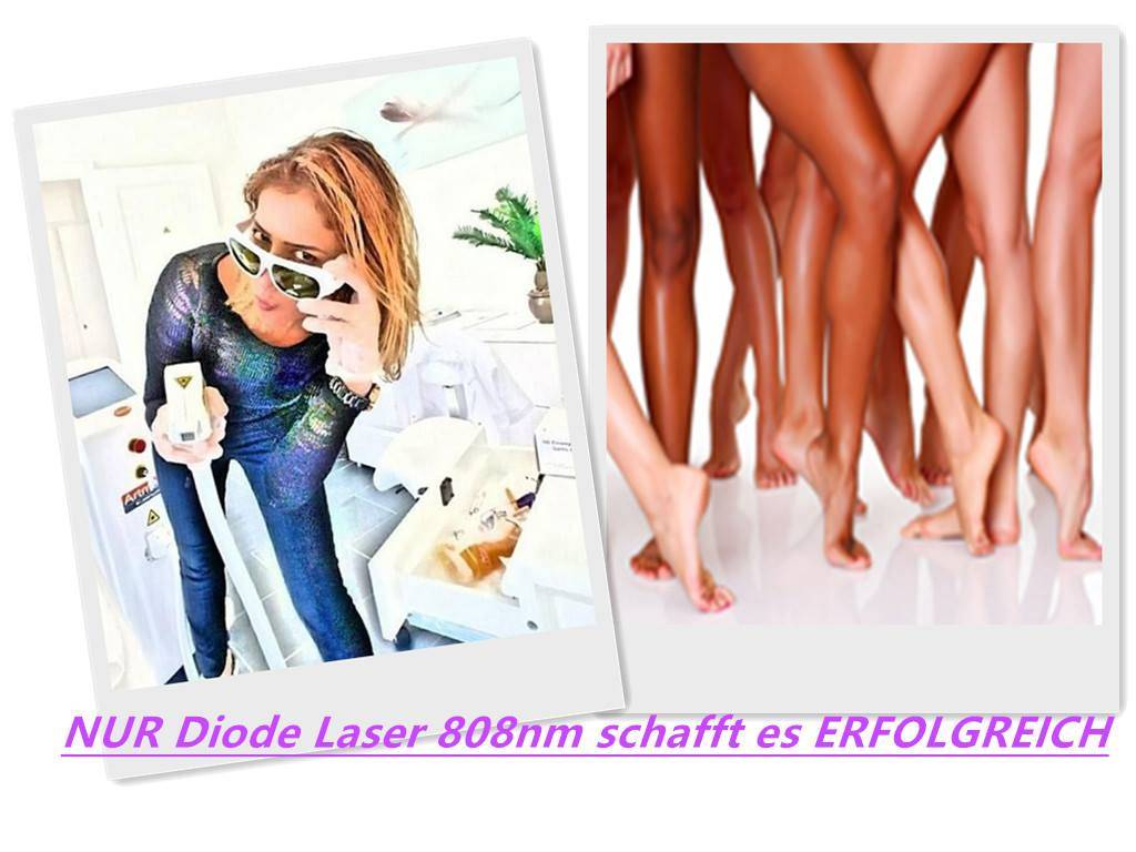 755 808 1064 Triple Wavelength Diode Laser Hair Removal pictures & photos