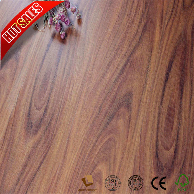 China 8 3mm 12 Hand Sed Composite Laminate Flooring Hardwood Building Material