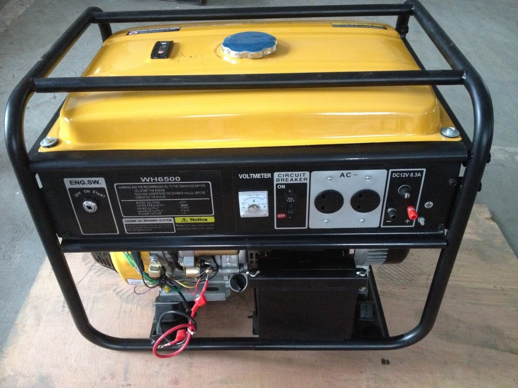 China 2kw 6kw Electric Gasoline Power Generator With Ce Iso9001 Voltmeter Ac Wiring Circuits