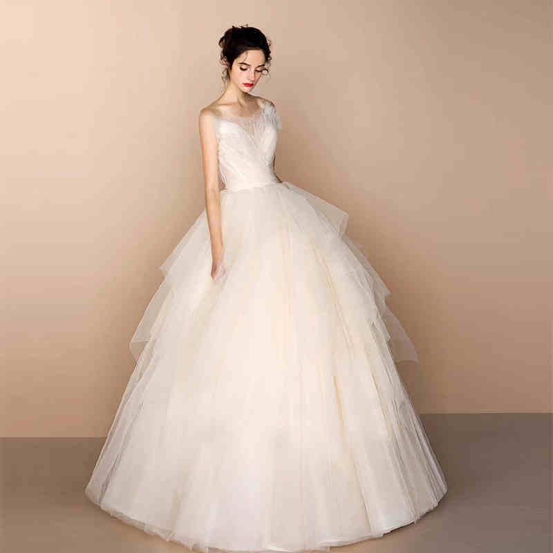 China Fashion Girl Ladies Evening Prom Bridal Wedding Dress Clothing
