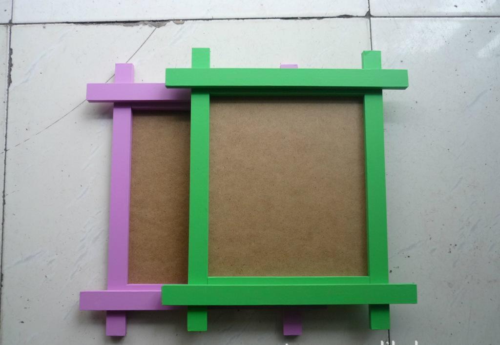 China Custom Design Cute Paper Photo Frame Cheap Picture Frames in ...