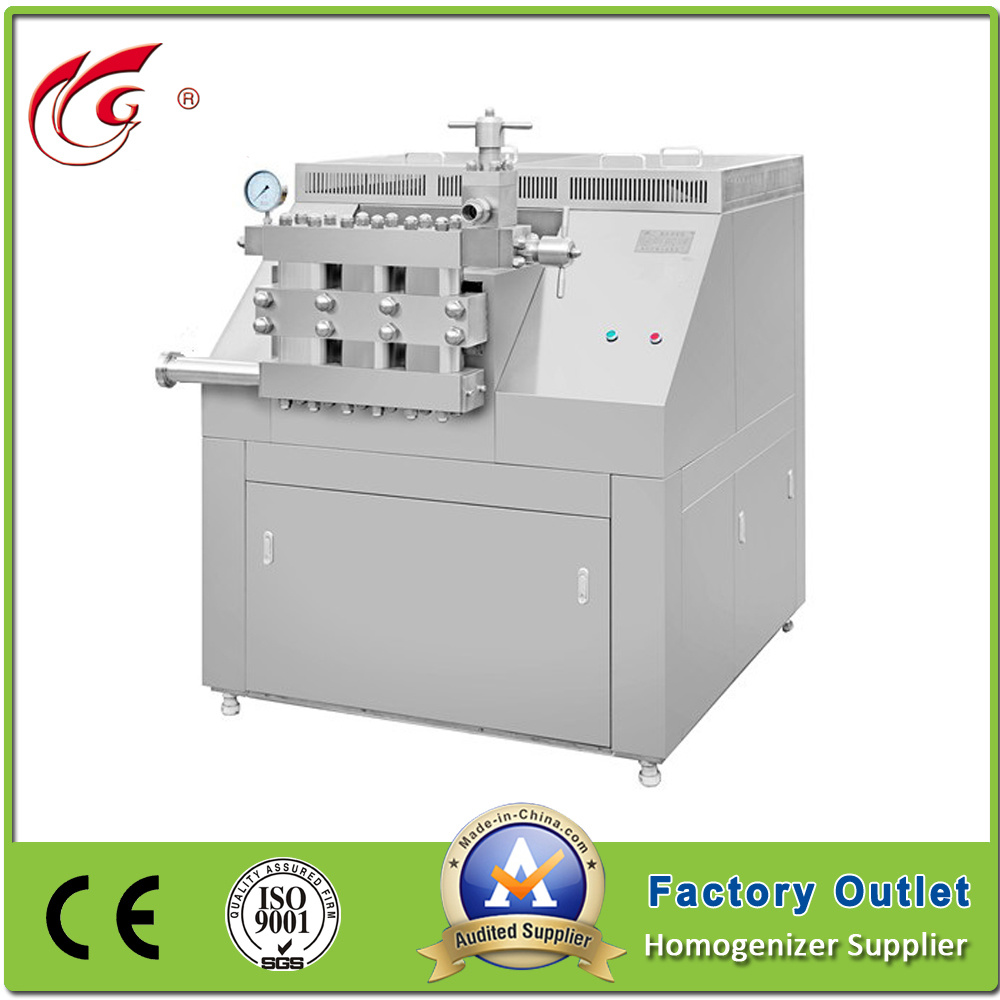 2000L/H Industrial High Pressure Homogenizer (GJB2000-25) pictures & photos