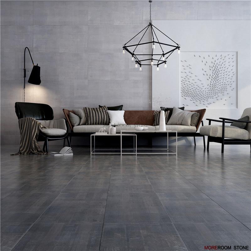 Dark Grey Porcelain Tiles For Floor