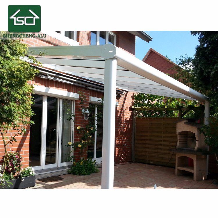 Modern Garden Pergola Roof System For Pergola Aluminum 4X3