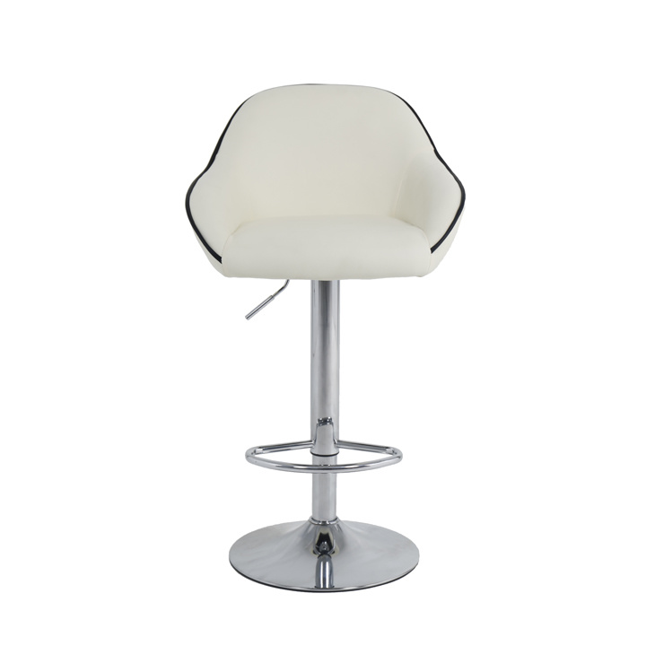 Sensational Hot Item Hot Selling Half Moon Shaped Bar High Chair Leather Kitchen Bar Stool Dailytribune Chair Design For Home Dailytribuneorg