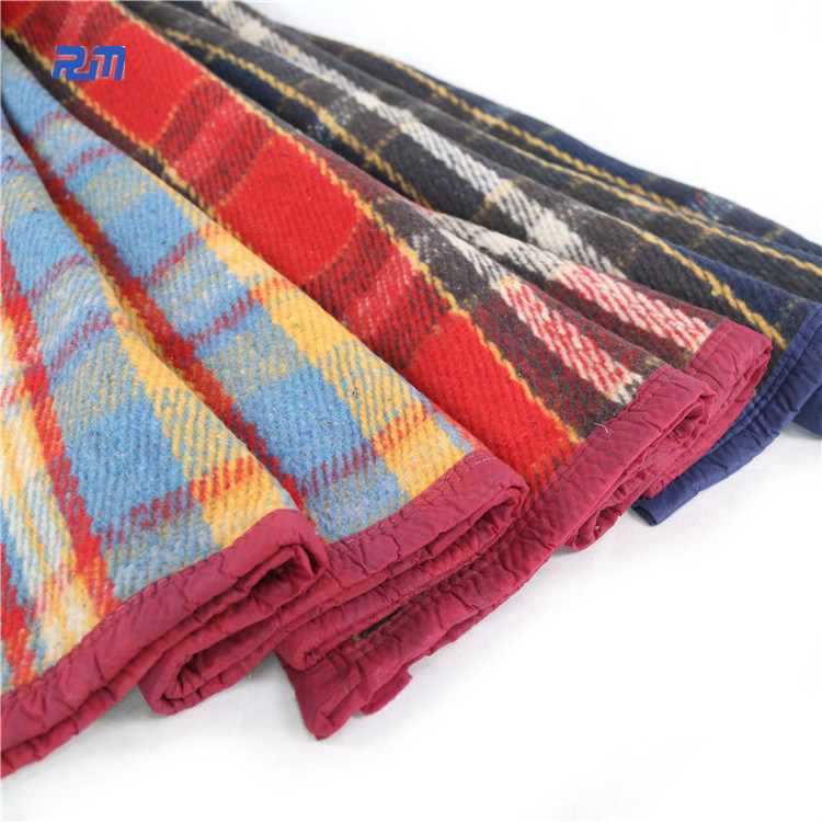 Fashion Woven Woolen Pure Merino Colorful Wool Blanket pictures & photos