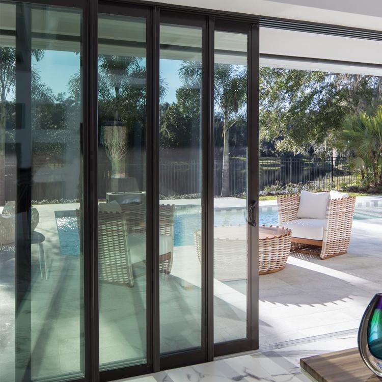4 Panel Aluminum Sliding Door, Patio Panels Sliding Doors
