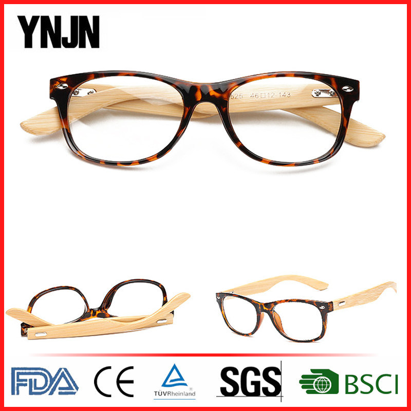 China New Products Plastic Frame Bamboo Reading Glasses (YJ-1525 ...