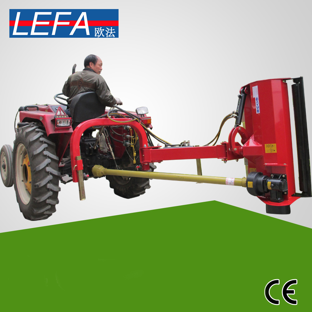 [Hot Item] Compact Tractor Side Flail Mower Use Double Hammer Blades