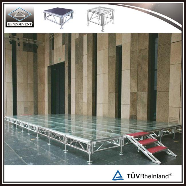 Detachable Acrylic Gl Platform Stage
