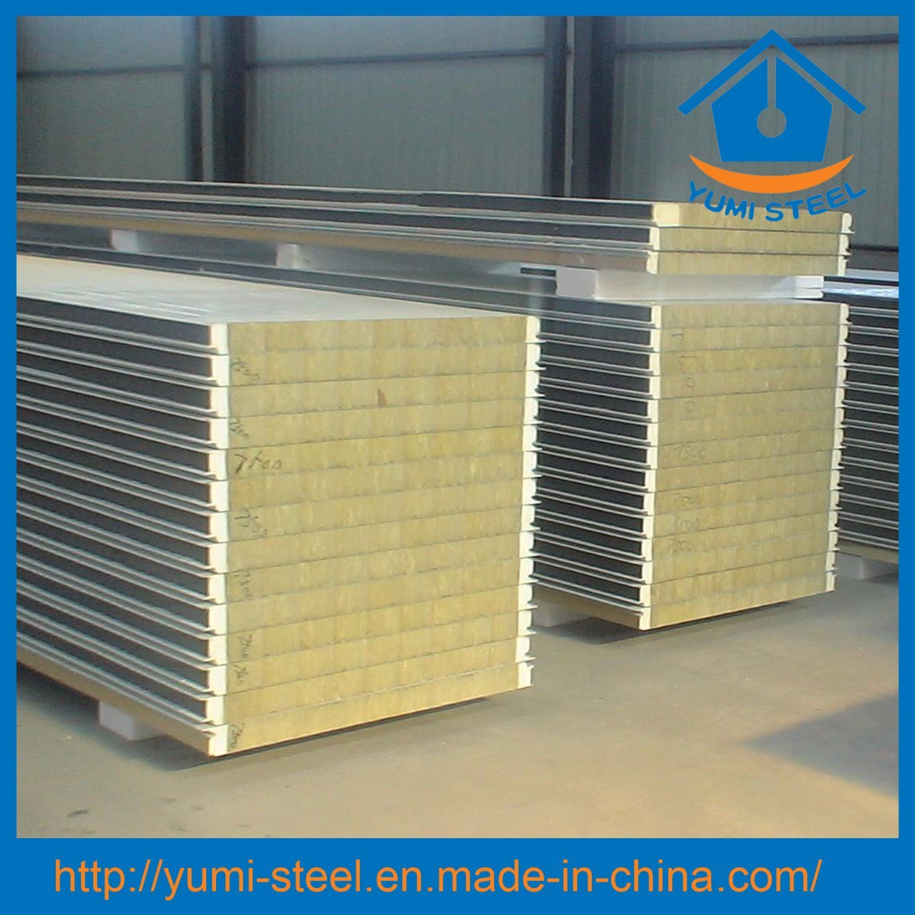 China Polyurethane Sealing Rock Wool Structural Insulated Roof/Wall ...
