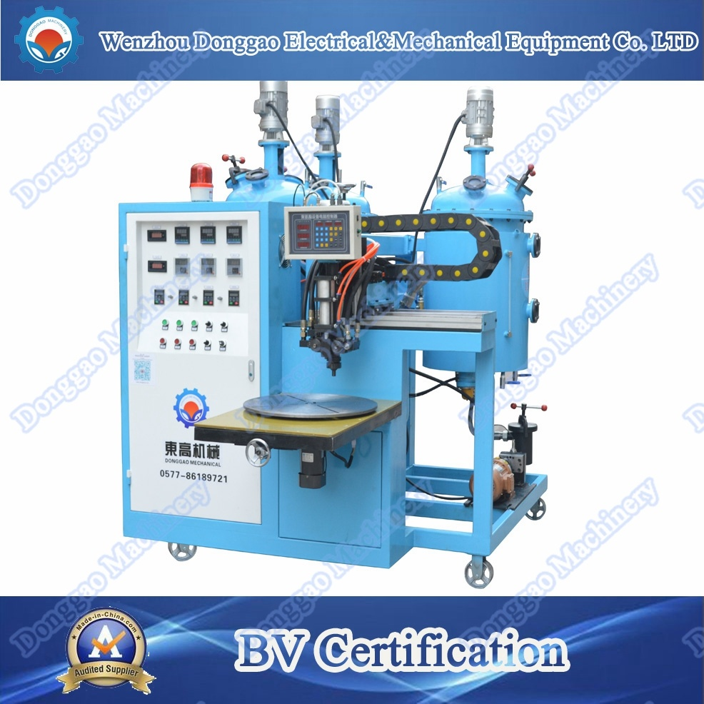 Circular Filter Polyurethane Sealing Strip Gluing Machine