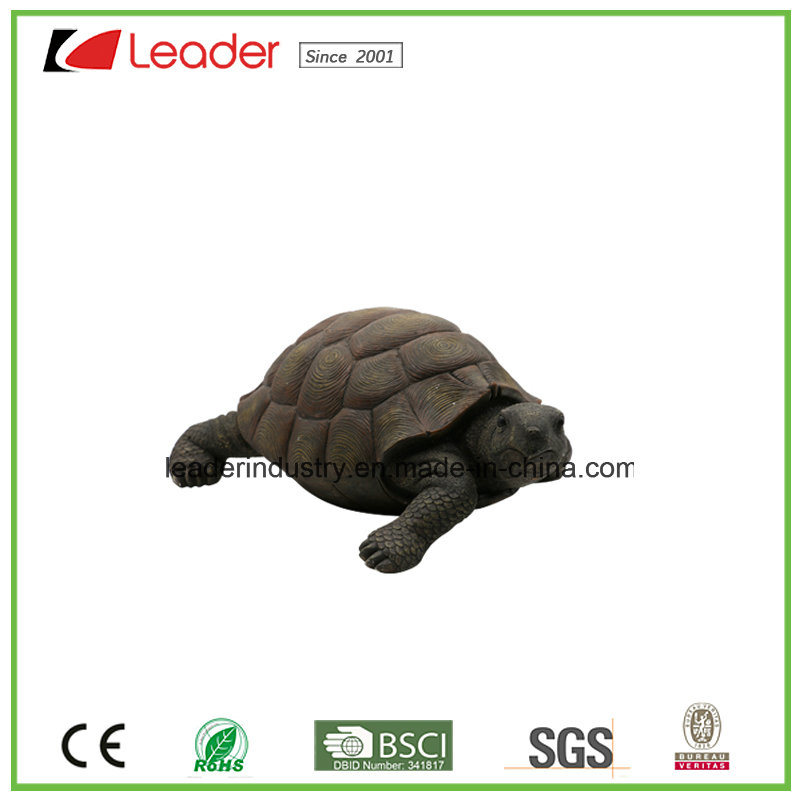 China Polyresin Garden Tortoise Statue For Home Decoration And