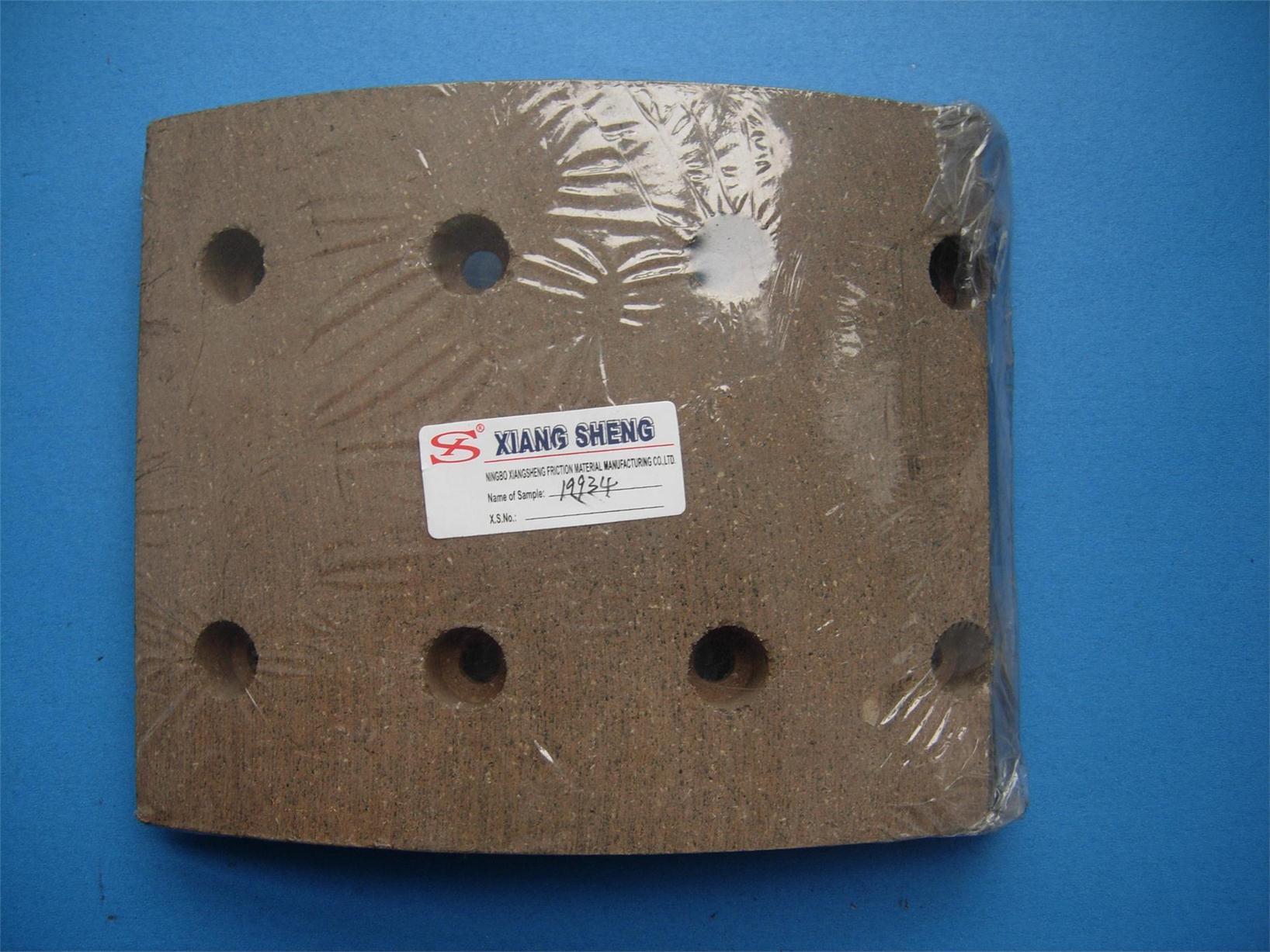 Brake Lining for 19934 Asbestos Non Asbestos