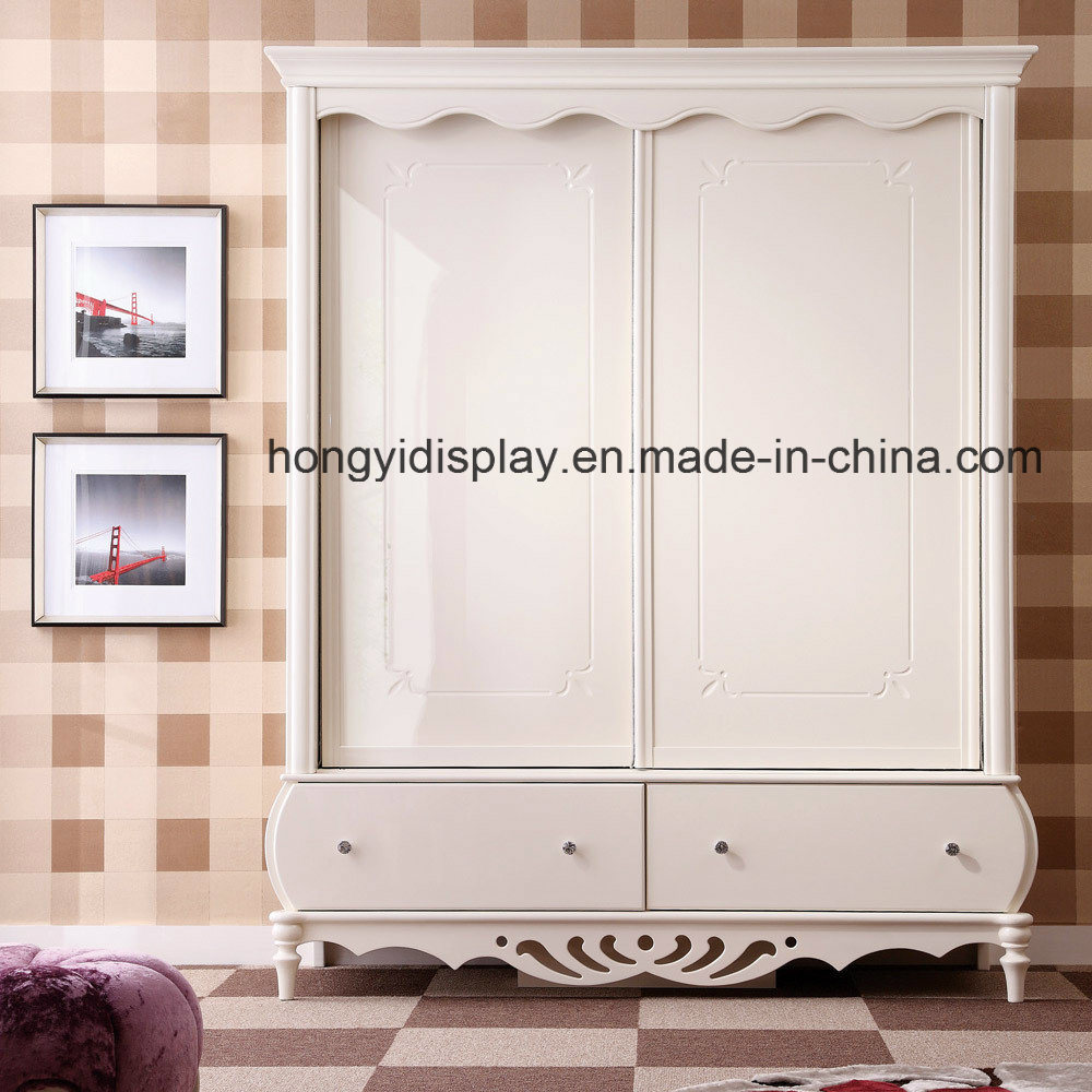 [Hot Item] Wardrobes with Sliding Mirror Doors Melamine Bedroom Furniture  Wardrobe