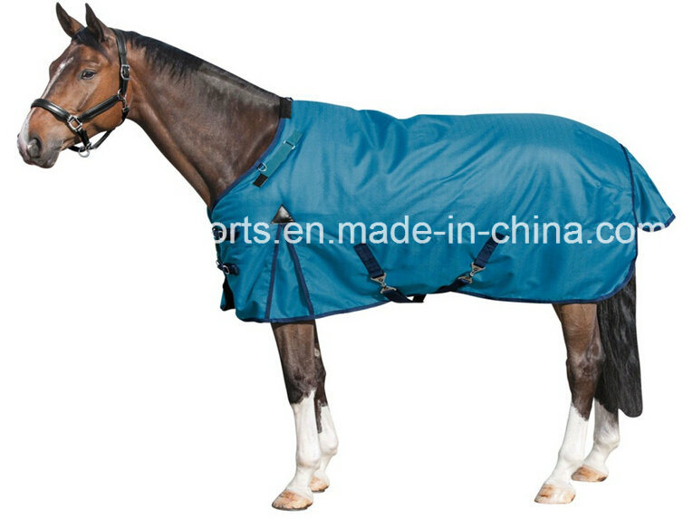 China 600d Two Tone Turnout Horse Rug