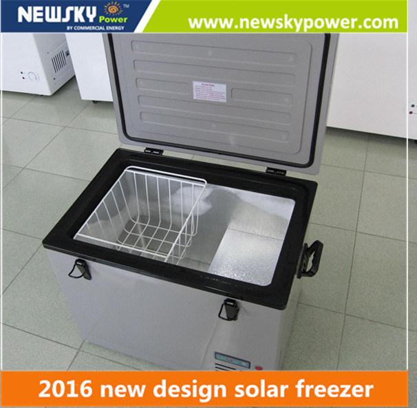 [Hot Item] DC 12V Solar Powered Portable Car Mini Fridge