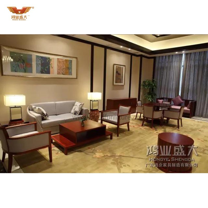 Chinese Modern Five Star Wooden Hotel Furniture
