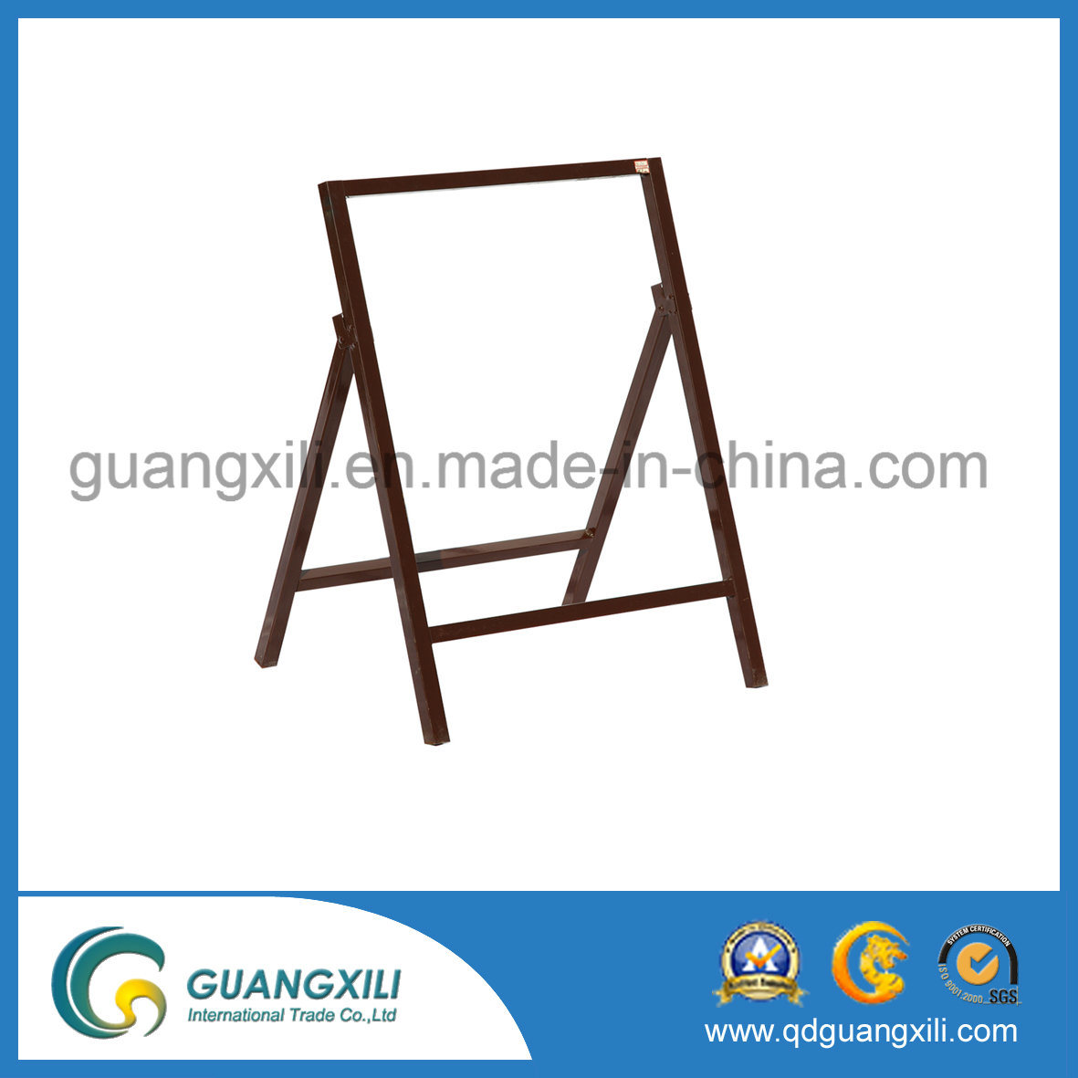 Zinc-Coated Steel Frame for Hanging Traffic Road Signage pictures & photos