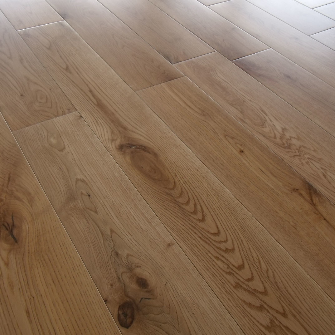 China High Gloss Finished Oak Flooring S09 Hq China