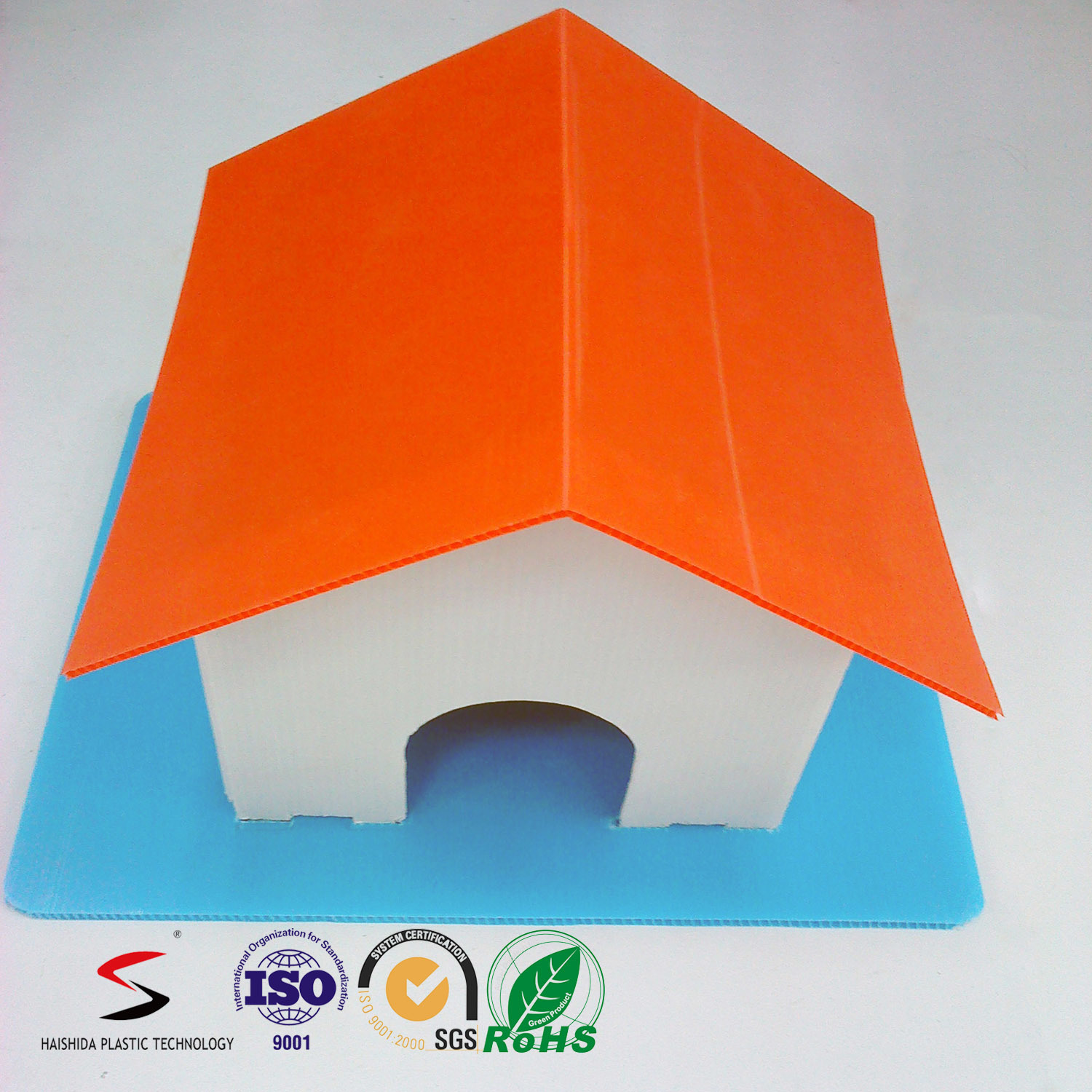 New Design of Foldable Playhouse for Kids Toy DIY Assembly House