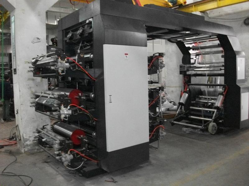 6 Colors High Speed Flexo Printing Machine pictures & photos