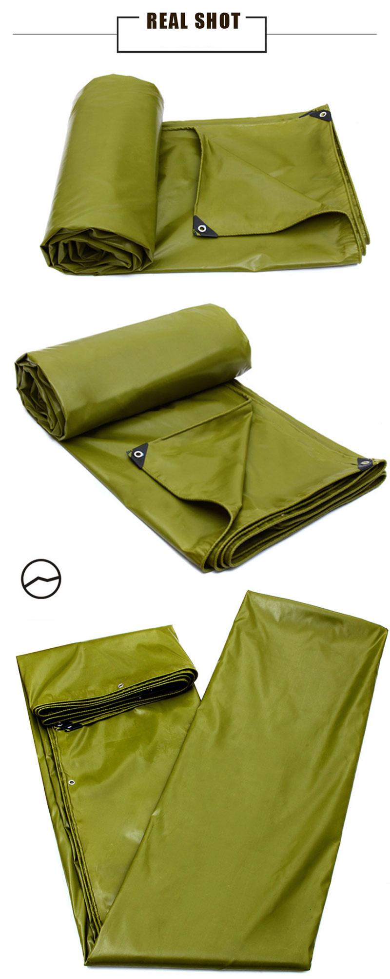 High Quality PVC Laminated Waterproof Tarpaulin for Cover/Tent