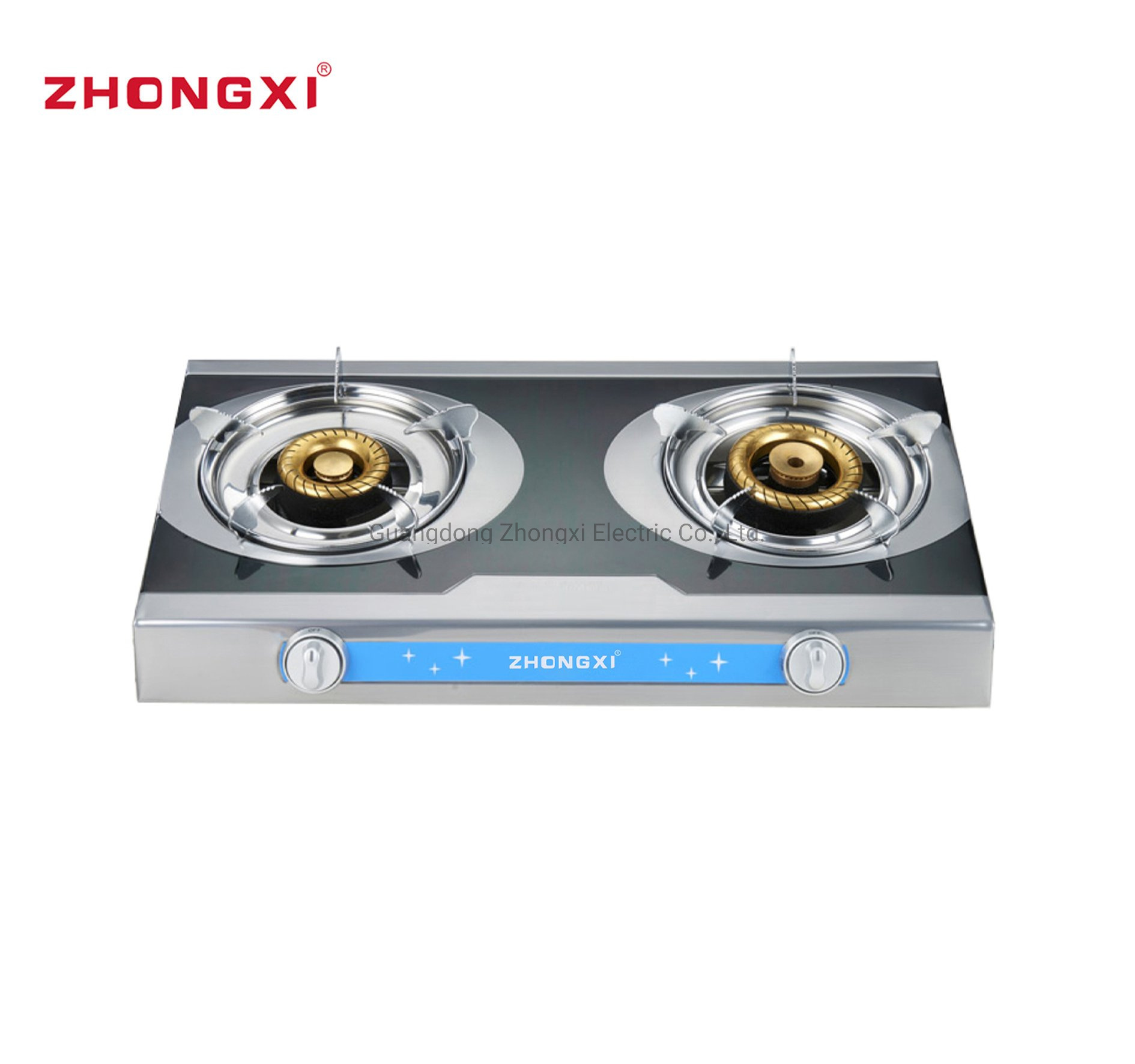 Hot Item Xunda Cooker Valve Two Plate Top Table Burner Turbo Tabletop Gas Stove Jz Rs249
