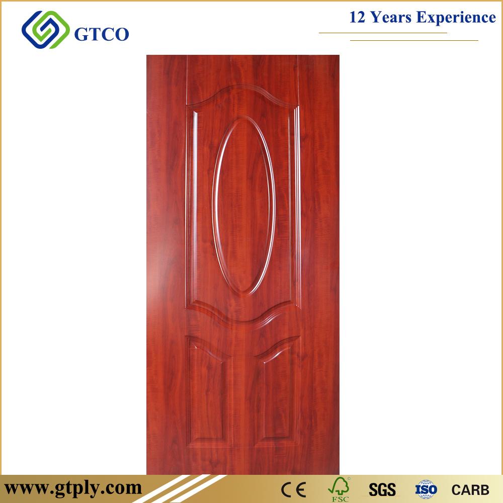 China Cheap Price Melamine Hdf Door Skin For Interior Doors