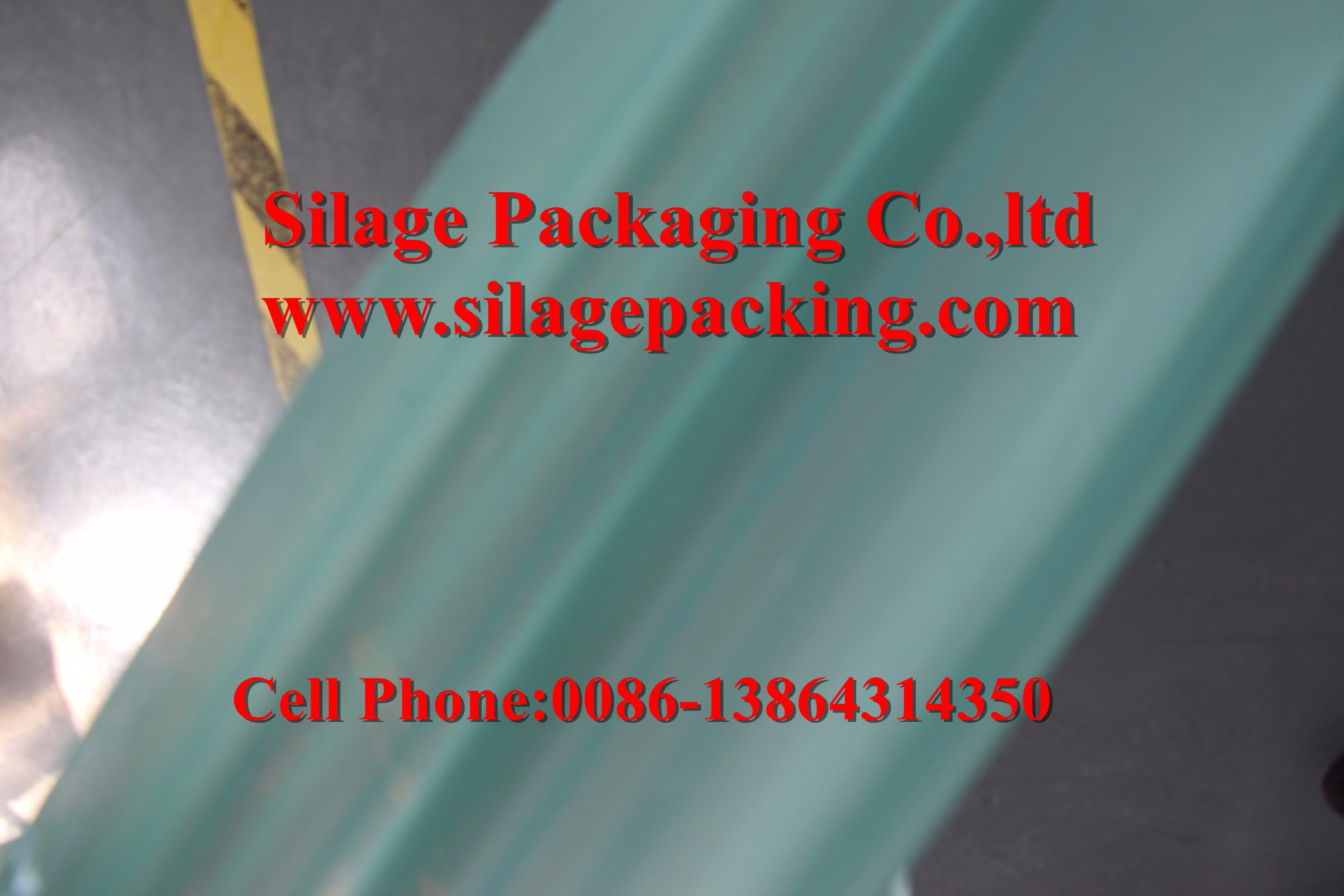 Silage Package Wrap Film -High Viscosity, Anti-UV 12month, Bird Proof, Sunlight Reflection with SGS Certificate pictures & photos
