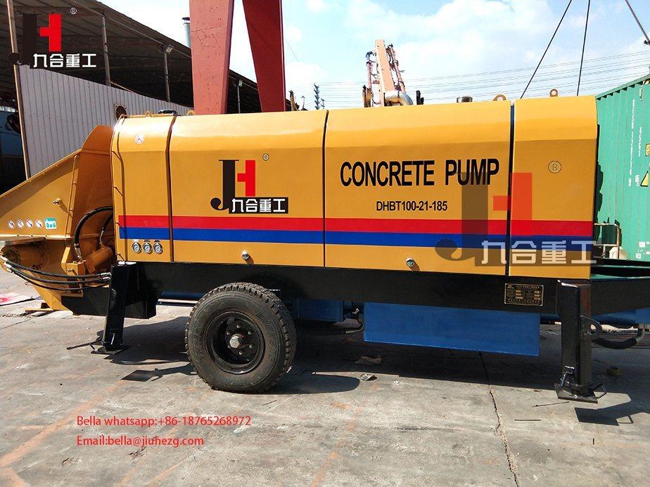 [Hot Item] Small Stationary Concrete Pump Mini Concrete Pump for Sale
