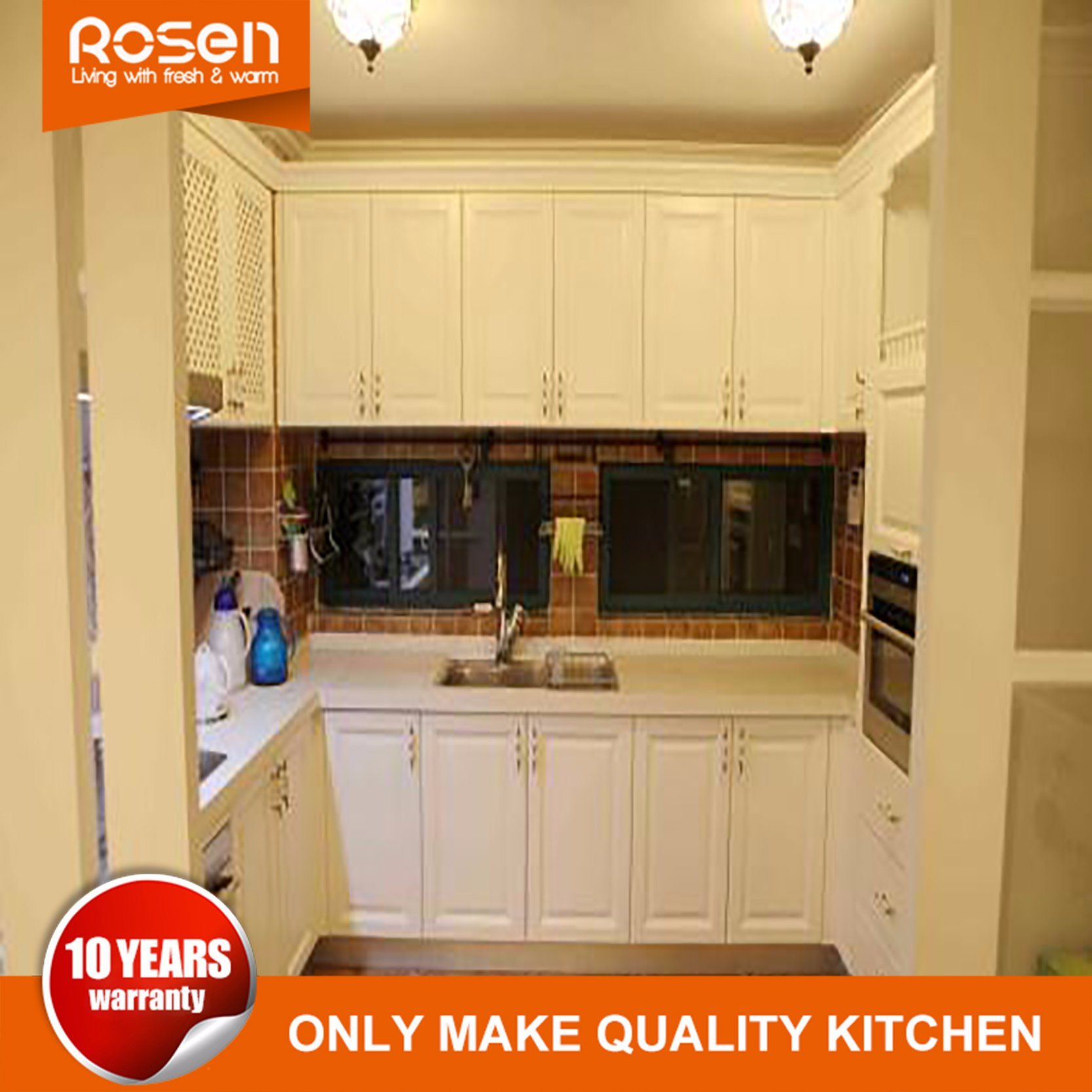Hot Item Hot Selling Wholesale Oak Solid Wood Kitchen Cabinets Furniture