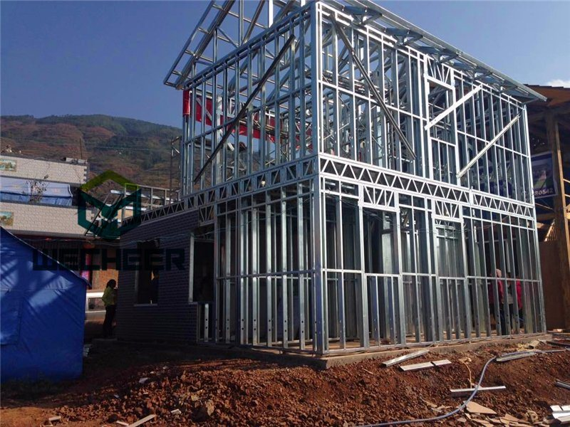 China Light Steel Structure Building Material House Steel Frame of ...