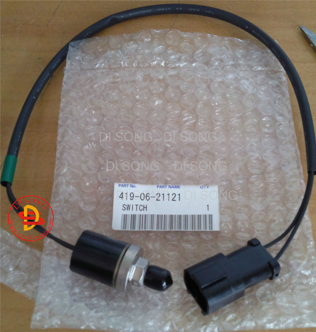 China Wheel Loader Spare Parts, Engine Parts for Switch (419-06 ...