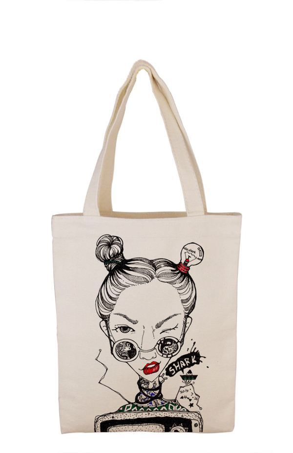 8164fdfaa31 [Hot Item] High Quality Tote Bags Cotton Standard Size Canvas Tote Bags  (FLA-9722)
