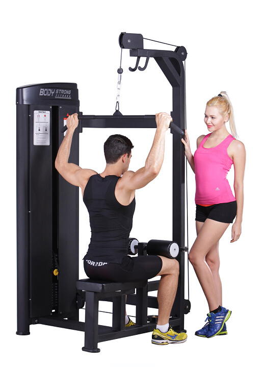 Strength Gym Equipment Lat Pulldown Machine Sp-012 pictures & photos