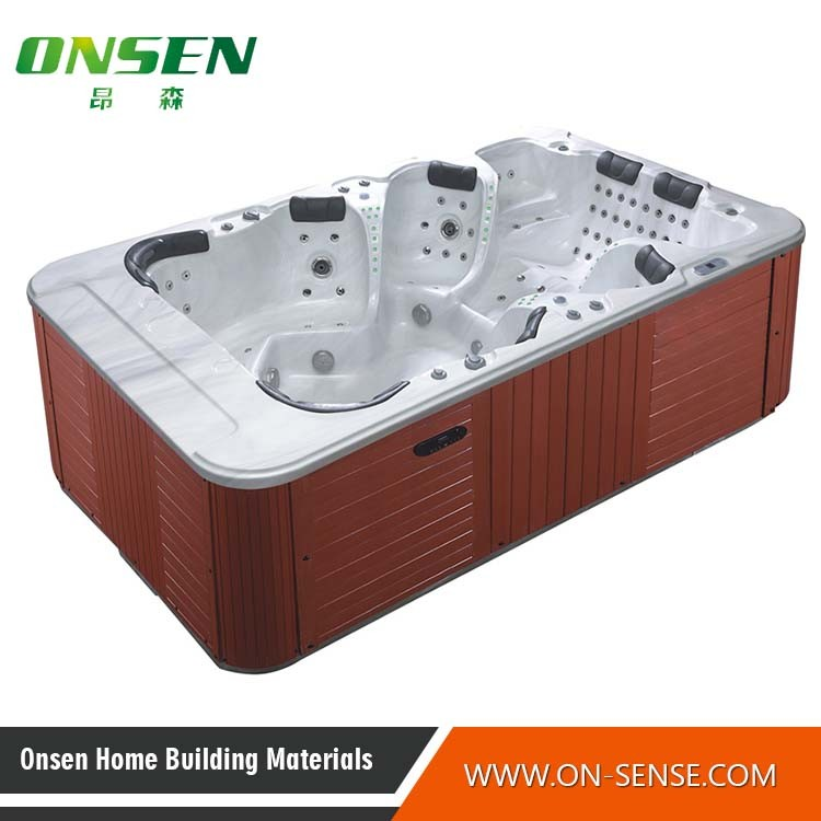China Acrylic out Door and Indoor Whirlpool SPA Hot Tubs - China ...