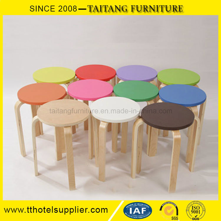 Sensational Hot Item Round Wood Chair White Round Stool Pabps2019 Chair Design Images Pabps2019Com