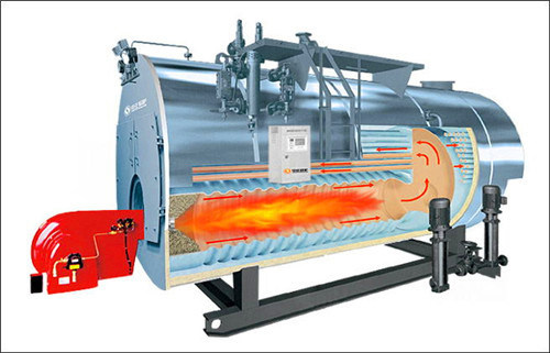 China Oil (gas) Fired Fire-Tube Wet-Back Hot Water Boiler - China ...