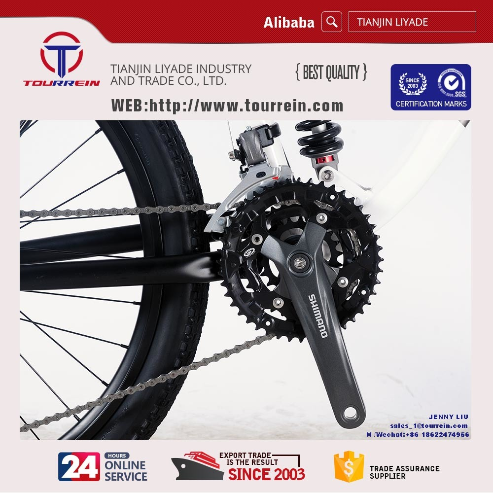 Full Suspension Hydraulic Disc Brake Racing Alloy Mountain Bike pictures & photos